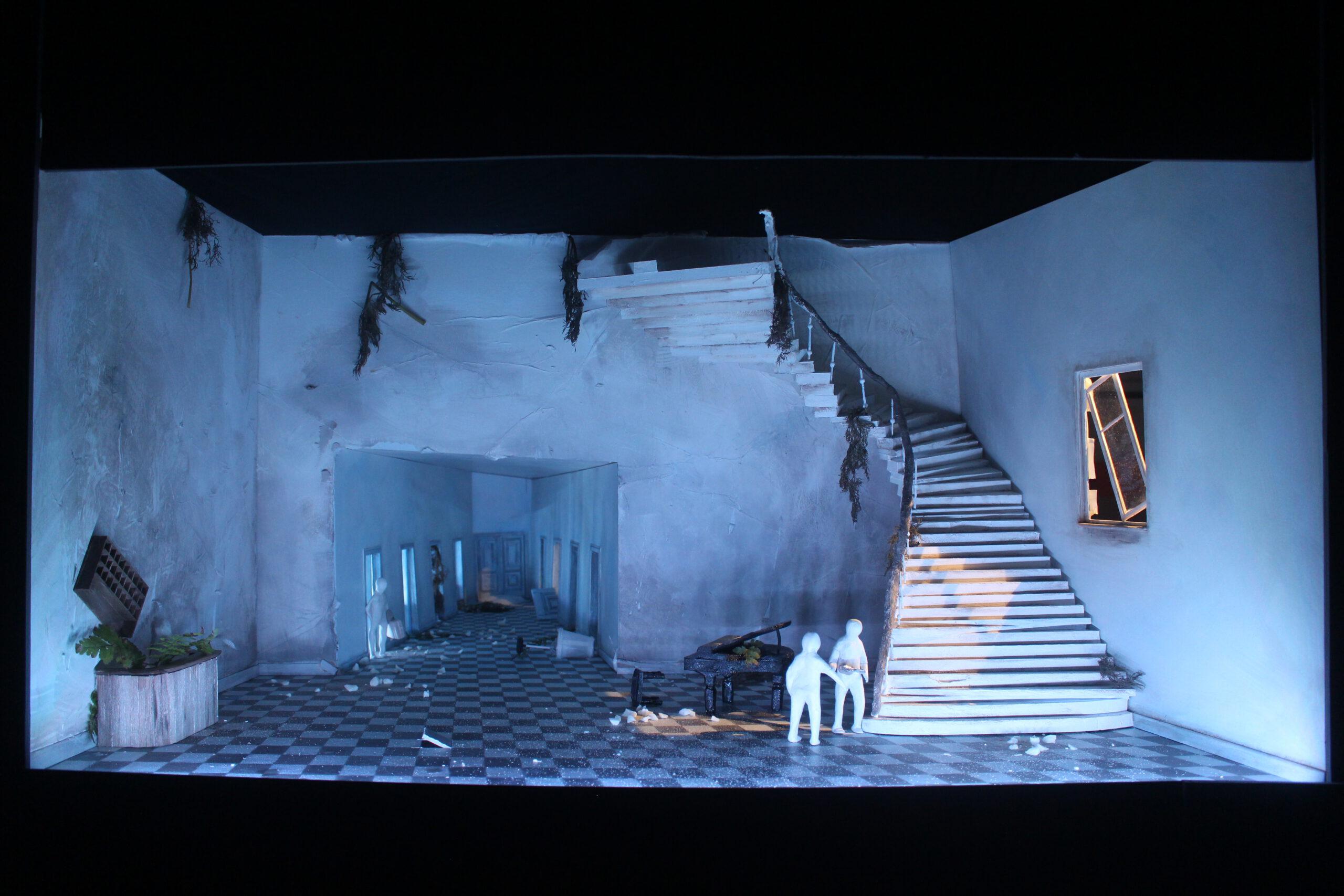 """""""Don Giovanni"""" Regiewettbewerb 2017, Bühnenbild von Mara Lena Schönborn"""