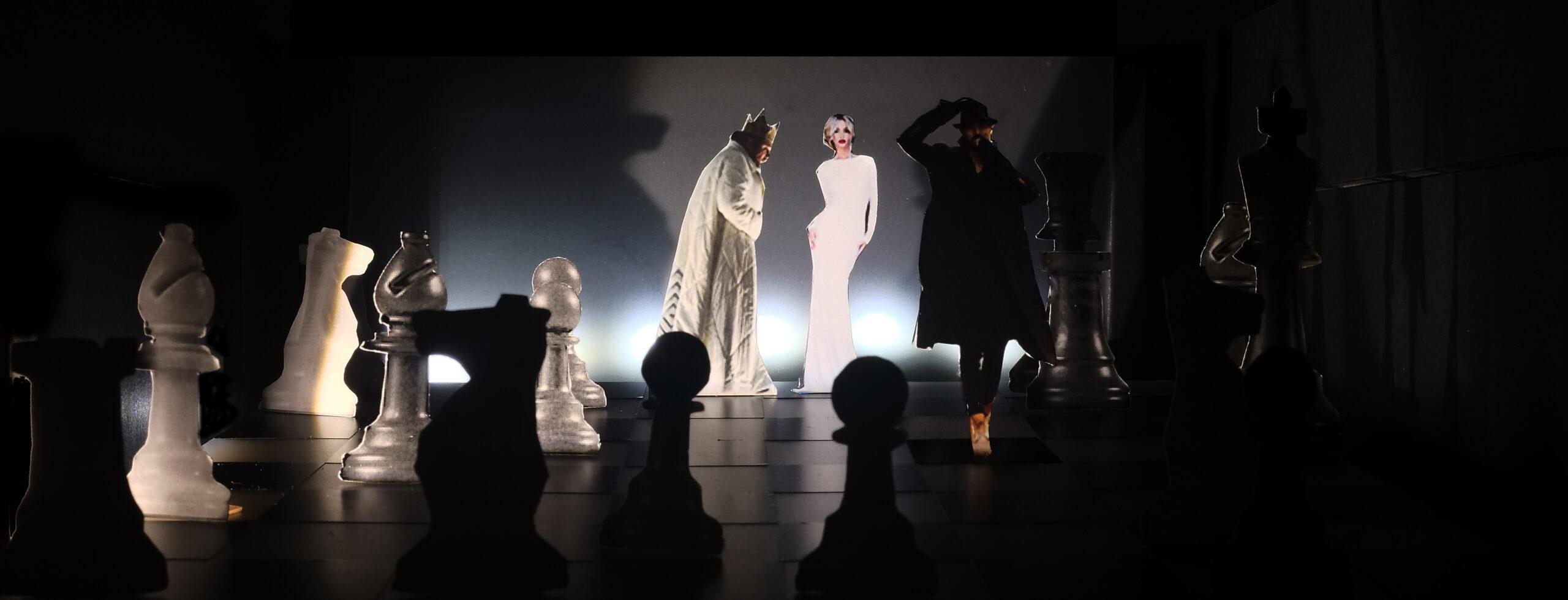 """""""Eugen Onegin"""" Regiewettbewerb 2018, Bühnenbild von Mara Lena Schönborn"""