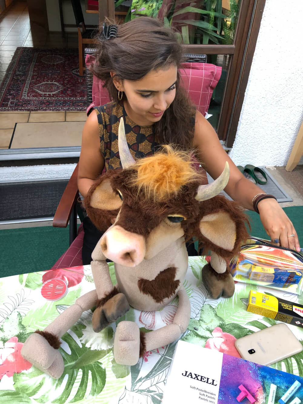 Puppenbau: Mara Lena Schönborn